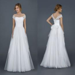 Wholesale 2016 Wedding Dresses with Adjustable Straps Bridal Princess Gowns Cheap Ruffled Tulle Floor Length Garden Wedding Gowns