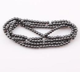 Wholesale Hot sale mm Magnetic Hematite Round Beads Magnetism Magnet Hematite Balls Fit Shamballa Bracelet Necklace ZBE11