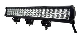 Wholesale Led Dual Flood Lights - High qulity 20 Inch 126W Dual Row LED Light Bar led lights for cars fog light led 12v flood light