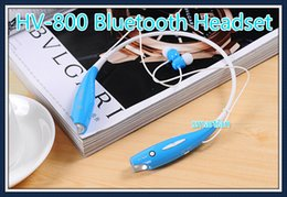 Wholesale HBS HV HV800 Bluetooth Wireless Stereo Earphone Headphone Sport Neckband headset For IPhone s Samsung s5 s6 note LG