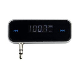 Wholesale Wireless mm In Car LCD Display Hands Free Talk Function FM Transmitter For Iphone S S Ipad Smartphone With Backlight Q4059A
