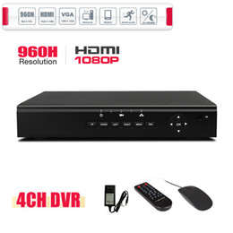 1080P HDMI 4CH CCTV DVR 960H Recording Valid Remote Network Mobile Phone View 4CH Stand Alone DVR