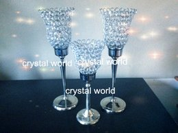 Freeshipping crystal candle holder, home decoration, wedding supplies, candlelight dinner,