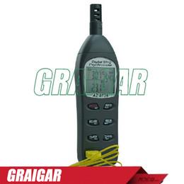 AZ8736 temperature humidity dew point meter wet bulb temperature and humidity with good quality,az8736 Hygrometer-single K