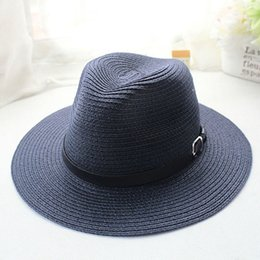 Wholesale-Sexy Women All-Match Wide Brim Foldable Hat Bowler Dicer Vacation NVIE