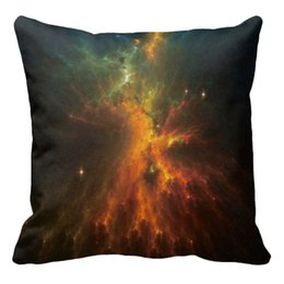 Wholesale Best Deal New x45cm Home Creative Decorative The Light Of Passion Color Galaxy The Milky Way Star Pillow Case pc