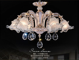 New Arrival Noble Luxurious K9 Crystal Chandelier Luxurious K9 Crystal Chandelier Lamp   Light   Lighting Fixture Free Shipping