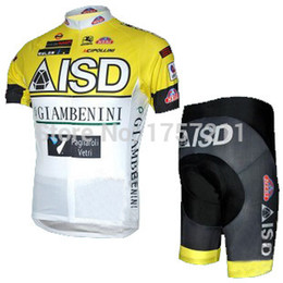 Wholesale ISD short sleeved cycling jersey and cycle shorts set strap riding a bicycle best clothing cheap sports wear