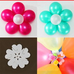 Wholesale 10pcs Balloon Seal Clip That Combine Balloons to Flower Shape Multi Balloon Sticks Balloon Accessory