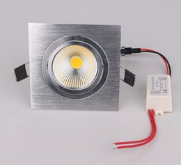 Wholesale Factory Directly Sales Square W W lm Cob LED Ceiling Light Lamp Bulb Cool White Warm White LED Down Light Led Downlight