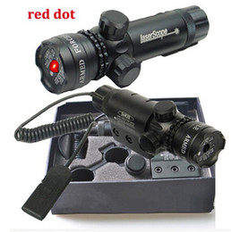 Wholesale Shotgun Laser Mounts - Tactical 5MW Red Laser Sight with Pressure Switch & Mounts For Rifles and Shotgun Laser Sight Pointer  Designator Illuminator