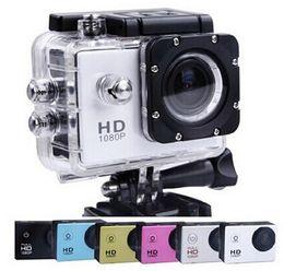 Wholesale LCD Screen P Full HD Action Camera M Waterproof Camcorders SJcam Helmet Sport DV Car DVR SJ4000 style A9 Inch
