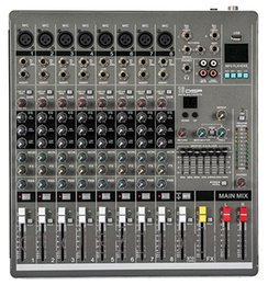 Wholesale New P YA800 Professional Audio Powered Mixer Channels Double Graphic EQ Mezcladora De DJ