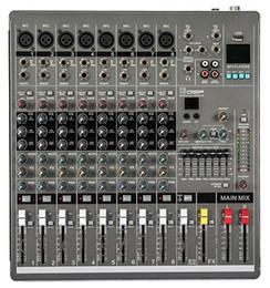 Wholesale New P YA800 Professional Audio Powered Mixer Channels Double Graphic EQ Mezcladora De DJ
