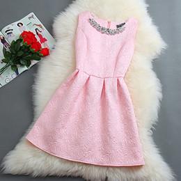 Amy 2015 Women's New Spring And Summer The Korean Version Of The Retro Ladies Temperament Princess Tutu Slim Dress