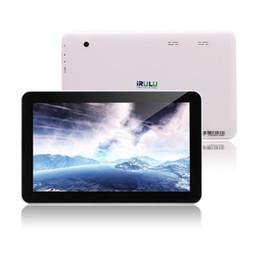 """Pouces 1gb en Ligne-iRULU 10 pouces Android 5.1 Tablet PC Quad Core A33 1024 * 600 capacitif 8G / 16G 10 """"Bluetooth Tablet Tablet"""