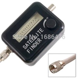 Free shipping Satellite Finder Signal Meter for SAT DISH LNB DirecTV, IN STOCK, lnb ku meter camera
