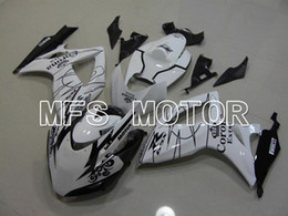 Wholesale Bestselling Motorcycle Fairing Set For Suzuki GSXR600 ABS Injection Plastic Bodywork Kit