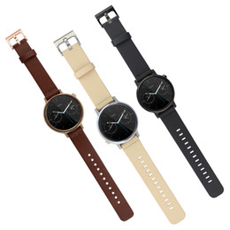Wholesale 1 Original OEM Genuine Leather Band For Smart Moto Watch Band nd Gen Wearable Strap Bracelet For Men Women With Spring Bar