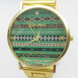 Stainless Wrist Watches Women Fashion Gold Crystal Quartz Vintage Chinese National Customs Design Lady Women Luxury Men Wrist Watch