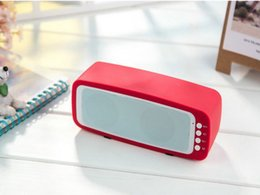 BL209 Mini Portable Wireless Subwoofer Metal Steel Handsfree HiFi Speaker With TF Card Stereo Music Player Speakers