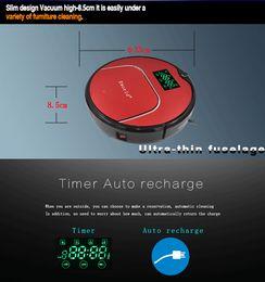 Wholesale Eworld New Design Robot Vacuum Cleaner Sets Senser Automatic Auto Robotic Sweeper Floor Cleaning Machine