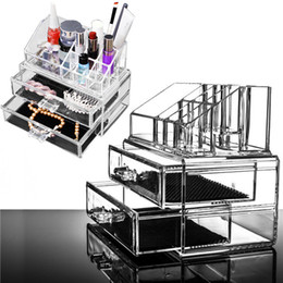 Wholesale 2015 Acrylic Makeup Make Up Lipstick Display Stand Holder Cosmetic Storage