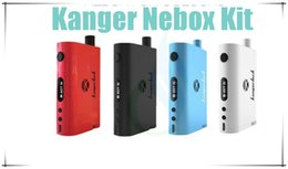 Wholesale Original Kanger Kanger NEBOX First Integration of Temperature Control Mod And Tank W Box Mod and ML Tank