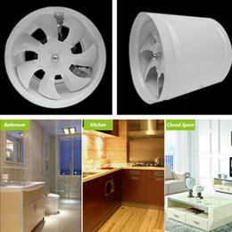 Wholesale Inline Duct Fan kitchen bathroom ventilator axial fan exhaust fan ventilator energy saving high speed ventilation fan