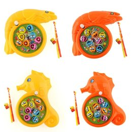 Wholesale HOT Kid Plastic Magnetic Fish Game Preschool Safe Toy Set X mas Gift Present dandys