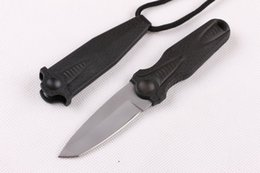 New Arrival fixed blade small hunting knife outdoor caming survival knives Necklace knife with ABS sheath