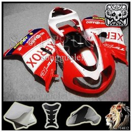 Wholesale TL1000R ADVANCE HO KK AIDO XEROX red Body Kit Fairing For Suzuki TL1000 R TL R