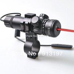 Wholesale Rifle táctico Puntos rojos del laser Puntos de Rifle Ajuste exterior