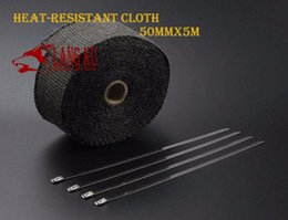 Wholesale Cool it exhaust pipe refires plantain cloth high temperature insulation cotton insulation with banana belt