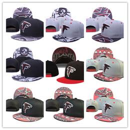 Wholesale Atlanta Snapback Hat Thousands Snap Back Hat For Men Summer Baseball Cap Falcon American Football Hat Women Baseball Cap Mix Order