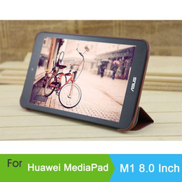Wholesale 2014 news leather cover huawei mediapad m1 inch original case for tablet pc huawei m1cover case A5