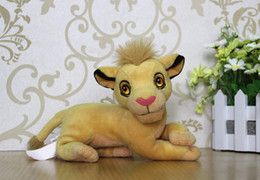 Wholesale high quality The Lion King baby simba plush soft gift toys doll simba toys for Christmas gift three designt
