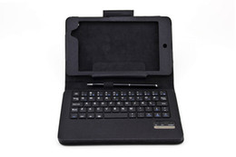 Wholesale Nexus7 II Leather Case with Wireless Bluetooth Keyboard Kit For Google Asus Nexus7 nd capacitive screen normal dual ball point pen F27S