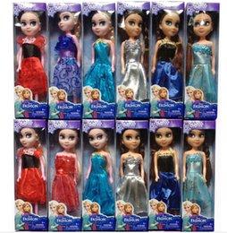 Wholesale 24 in Elsa Princess Dolls frozen Boneca Elsa and FROZEN Anna Good Girls Gifts Girl Doll cm High DHL