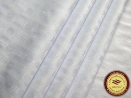 High Quality White Bazin Riche,Germany Quality 10 Yards bag Guinea Brocade Garment Fabric 100% Cotton With Perfume Shadda