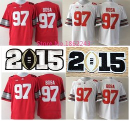Wholesale Factory Outlet Youth s Joey Bosa Jersey Ohio State Buckeye jerseys cheap Red White youth College football jersey Stitched S XL