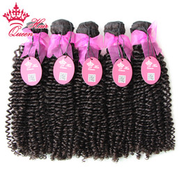 Queen Hair No Tangle Brazilian 100% Unprocessed Virgin Hair Kinky Curly 10-30inches 500g lot,Top beauty hair weave