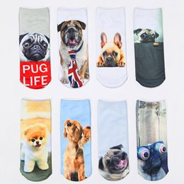 Wholesale 1 Pair Unisex lovely creative Pattern Spring and Autumn Winter boat socks D character Sock slippers