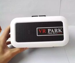 Wholesale Best Gift VR PARK Vitual Reality D Glasses Google Vrpark Cardboard vr Park Headset for inches Phones