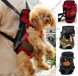 Wholesale New Portable Canvas Pet Dog Cat Puppy Carriying Carrier Case Comfort Travel Tote Front Shoulder Bag Backpack Purse Handbag Sl