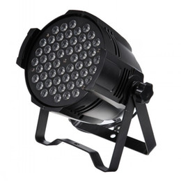 Free shipping 54X3W Cast aluminium High power LED Stage Lighting RGB RGBW Indoor LED Par Can