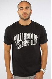 Wholesale BILLIONAIRE BOYS CLUB T Shirt BBC T Shirts Men Hip Hop Cotton tshirt O Neck billionaire Man Tops Shirt