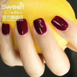 Wholesale Genuine SweetColor green light solid color nail paint was white dark red lonely ballet S324