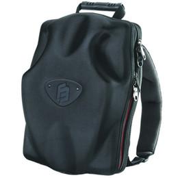 Coque rigide en EVA sac à dos Noir sac d'ordinateur portable en plein air sac à dos sac à dos anticollision équitation CrashProof sac pour la journée à partir de sacs de jour noir fournisseurs
