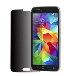 Wholesale-selljimshop 2015 Privacy Anti-Spy Screen Protector Guard Shield Film For Samsung Galaxy S5 jimshopping
